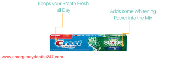 Crest Complete Extra White with Scope Outlast Toothpaste