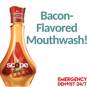 bacon flavored mouthwash fi