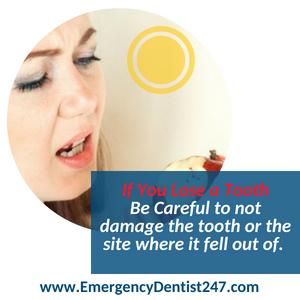 lose a tooth emergency dental houston