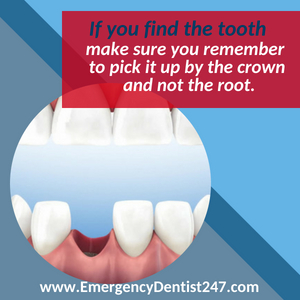 emergency dentist 247 leominster knocked out tooth