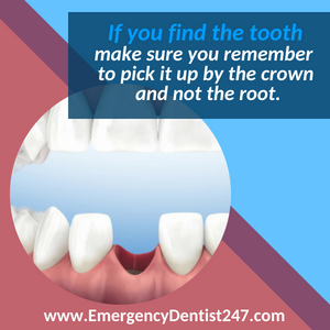 emergency dentist 247 phoenix az - knocked out tooth