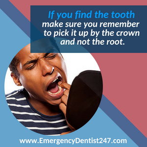 emergency dentist 247 san antonio tx - having a tooth knocked out