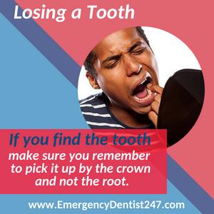 emergency dentist 247 san francisco - losing a tooth
