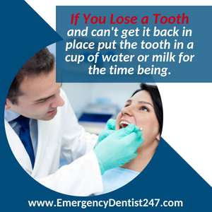 losing a tooth - emergency dental 247 dallas tx