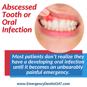 abscessed tooth and oral infections denver co