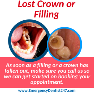 lost crown or filling louisville