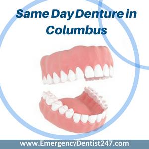 same day denture repair in columbus oh
