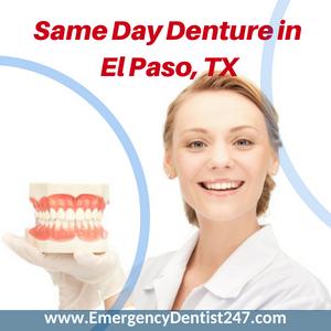 same day denture repair in el paso tx