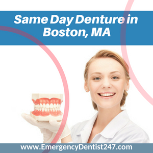 same day dentures in boston ma