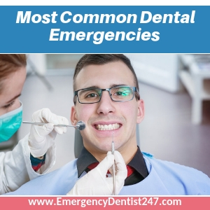The Most Common Dental Emergencies Faced by Patients st. louis