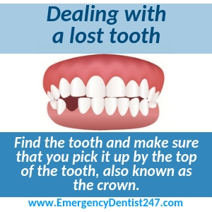 dealing with a lost tooth hartford ct