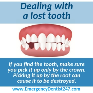 losing an adult tooth kansas city