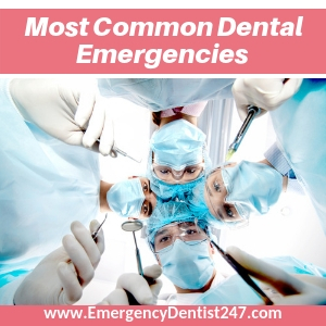 most common dental emergencies birmingham