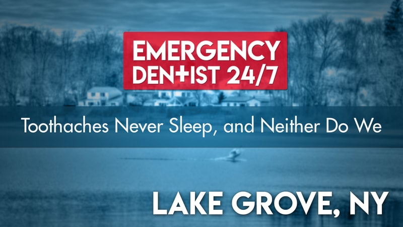 Emergency Dentist Lake Grove NY Cover