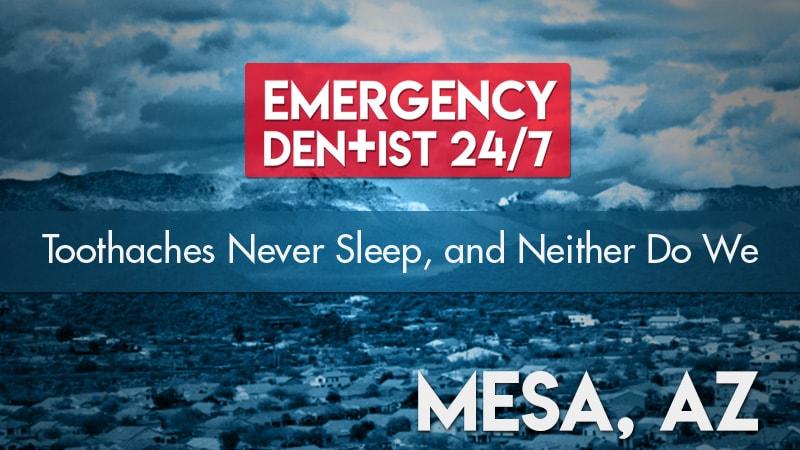 Emergency Dentist Mesa AZ Cover