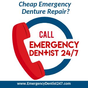Cheap Emergency Denture Repair