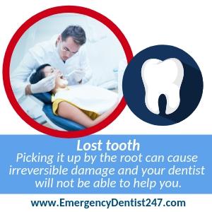 Lost tooth ORANGE CA
